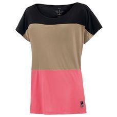 WLD Come to Me T-Shirt Damen beige/koralle/schwarz