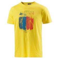 Quiksilver Casa Bazza Printshirt Herren gelb