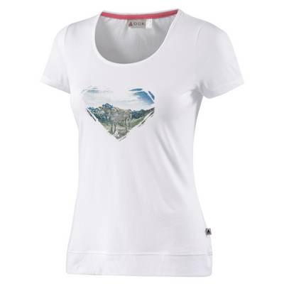 OCK T-Shirt Damen weiß