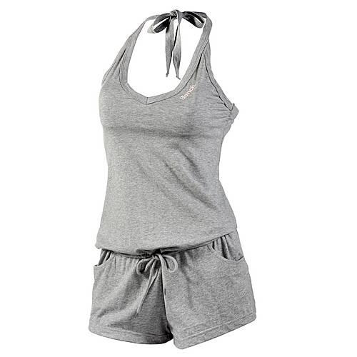 Bench Bowlover Jumpsuit Damen graumelange