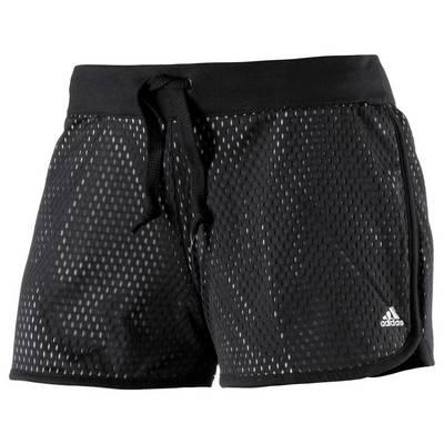 adidas Shorts Damen schwarz/grau