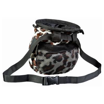 LACD Booty Leopard Chalkbag schwarz/braun