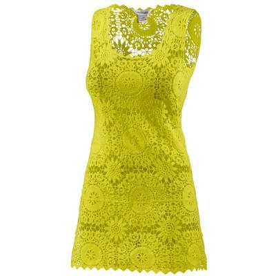 LingaDore Croched Dress Kurzarmkleid Damen lime