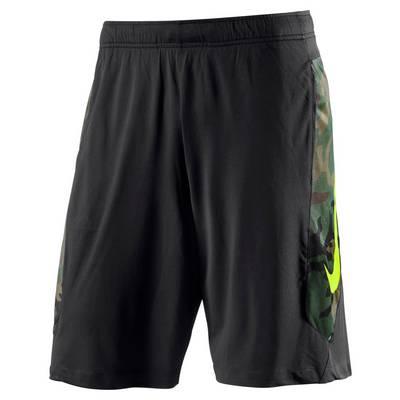Nike Hyperspeed Knit Camo Funktionsshorts Herren schwarz