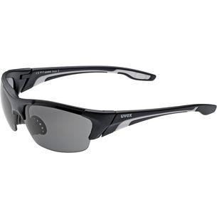 Uvex Blaze III Sportbrille black mat-clear-litemirror orange-smoke