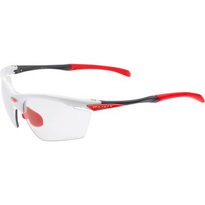 Rudy Project Agon White Gloss ImpactX Sportbrille rot