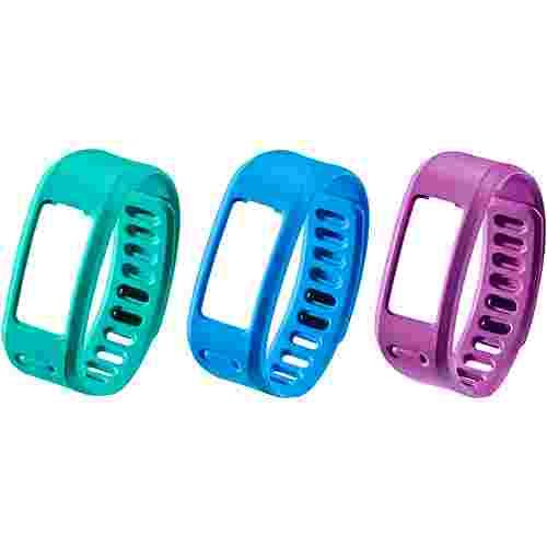 Garmin Armband lila/grün/blau