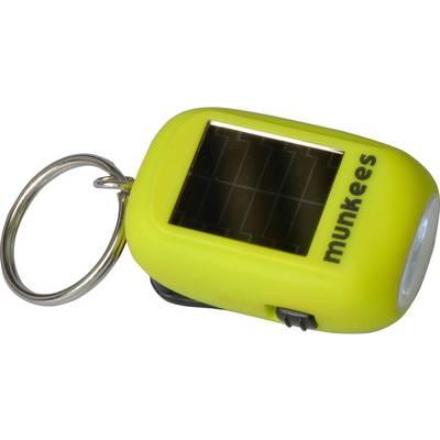 Munkees Mini Solar-Dynamo Taschenlampe Halogen