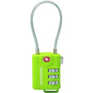 Munkees TSA Cable Combination Lock Schloss