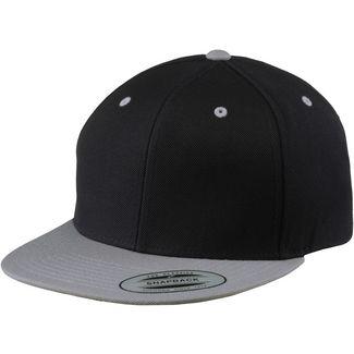 Flexfit Classic Snapback 2-Tone Cap schwarz/silberfarben
