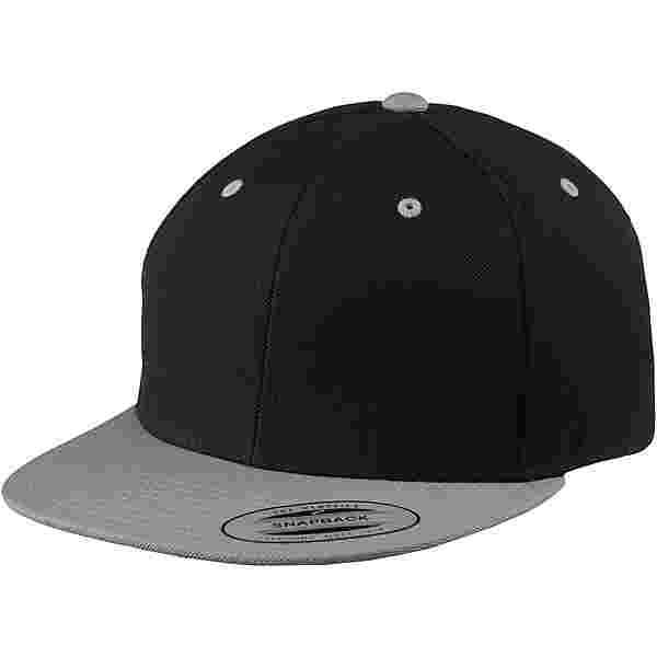 Flexfit Classic Snapback 2-Tone Cap schwarz-silberfarben
