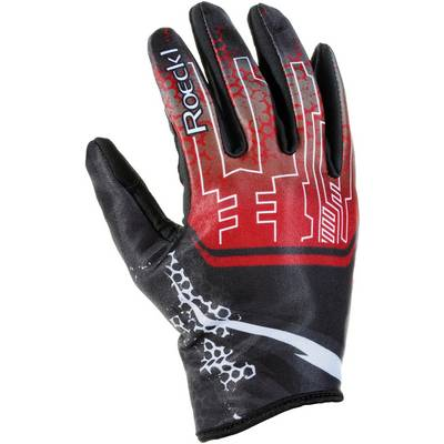 Roeckl Leynar Langlaufhandschuhe rot/schwarz