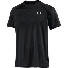 Under Armour Heatgear Tech Funktionsshirt Herren black-white