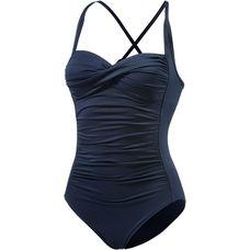 Seafolly Badeanzug Damen nachtblau