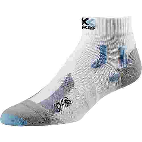 X-SOCKS Marathon Laufsocken Damen white-sky-blue