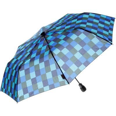 Göbel Light trek automatic Regenschirm marine/oliv/royal/eisblau