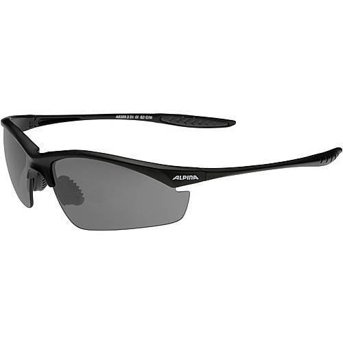 ALPINA Tri Effect Sportbrille schwarz