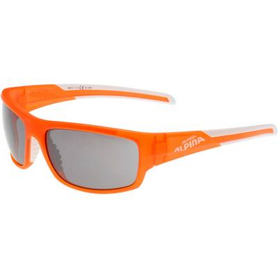 ALPINA Testido Sportbrille orange/weiß