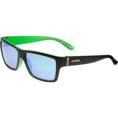 ALPINA Kacey Sonnenbrille schwarz/grün