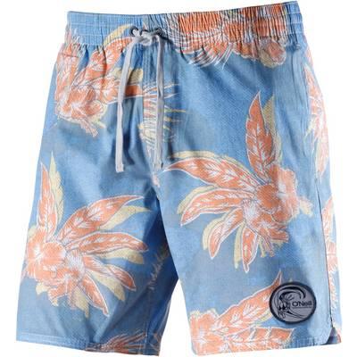 O'NEILL Badeshorts Herren blau/orange
