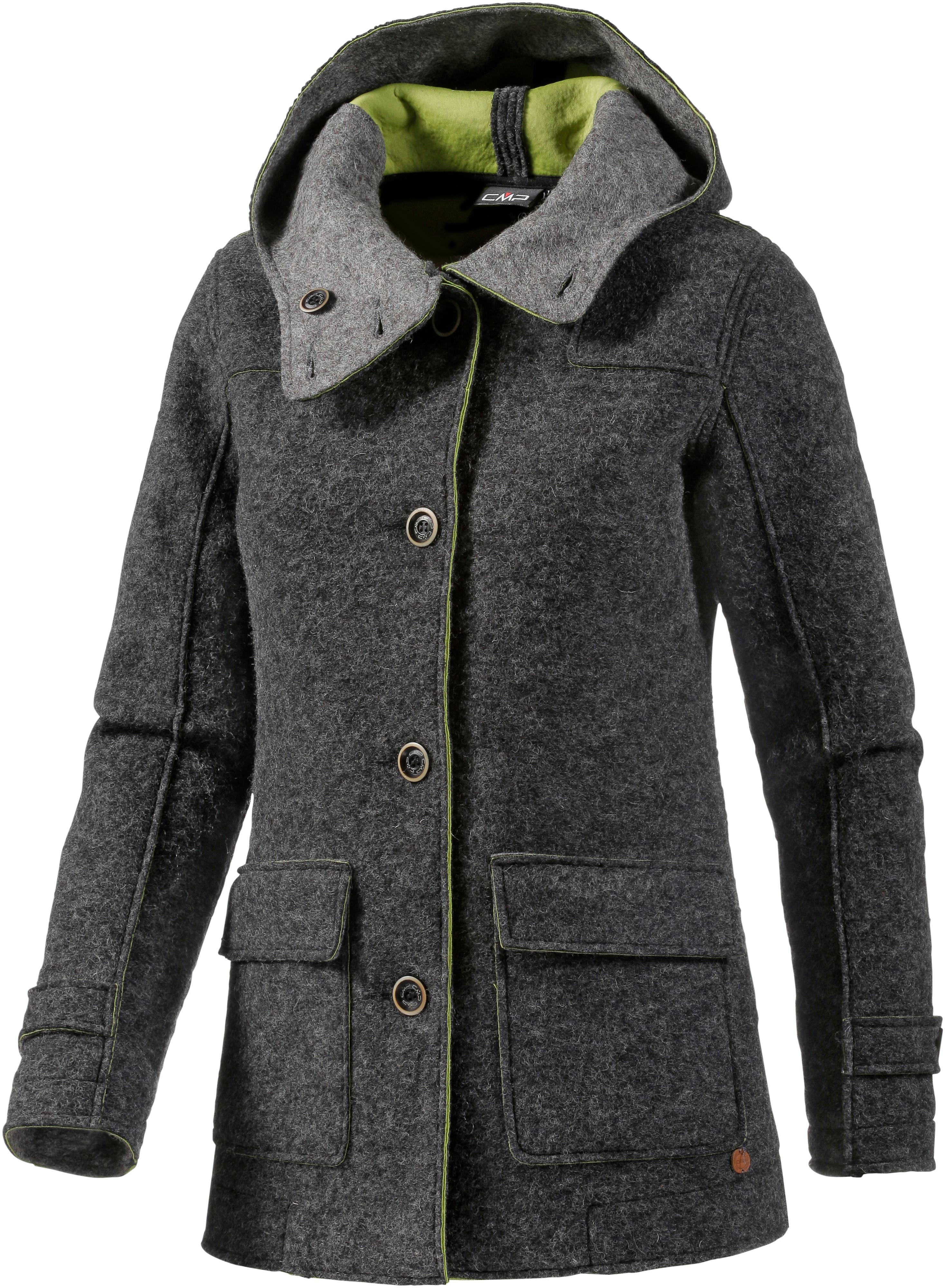 Cmp mantel damen wolle