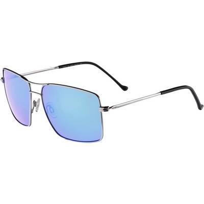 adidas Atlanta Sonnenbrille silver shiny/light blue mirror
