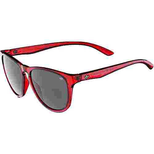 adidas San Diego Sonnenbrille power red transparent/darkgrey