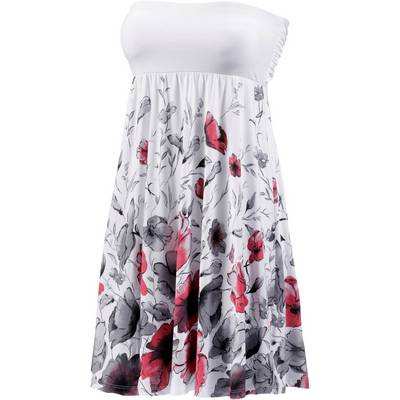 Lascana Minikleid Damen weiß