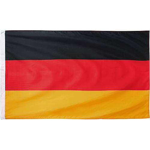 ID Merchandising Deutschland Fahne schwarz/rot/goldfarben