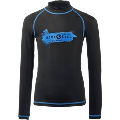Aqua Sphere Rashguard UV-Shirt Kinder schwarz