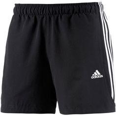 adidas Essential 3S Funktionsshorts Herren schwarz/weiß