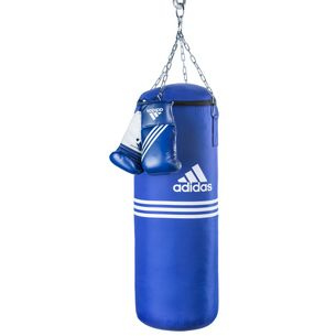 adidas Blue Corner Boxsack blau/weiß
