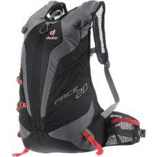 Deuter Pace 20 Alpinrucksack schwarz/rot