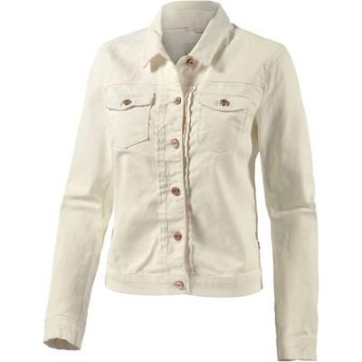 Maison Scotch Jeansjacke Damen weiß