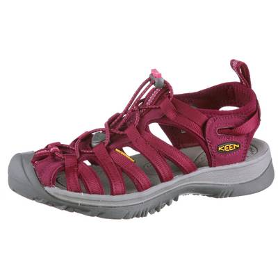 Keen Whisper Outdoorsandalen Damen bordeaux