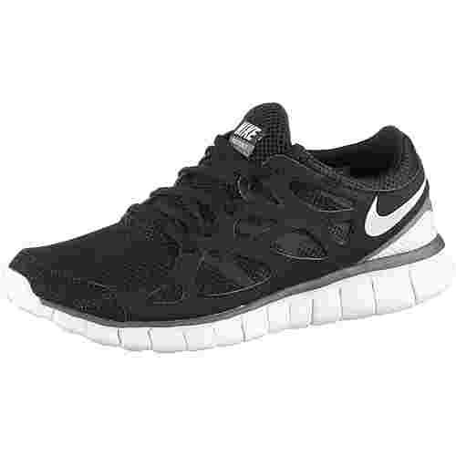 Nike Free Run 2 Sneaker Damen black/white-dark grey im Online Shop ...