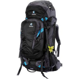 Deuter Quantum 60+10 SL Trekkingrucksack Damen black-turquoise