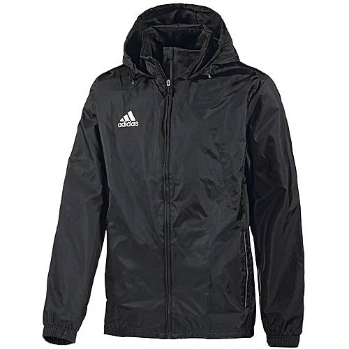 adidas Regenjacke Herren schwarz/weiß