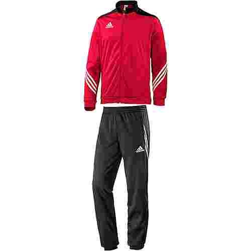 adidas Sereno 14 Trainingsanzug Herren rot/schwarz