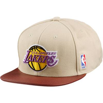 adidas NBA LA Lakers Cap sand