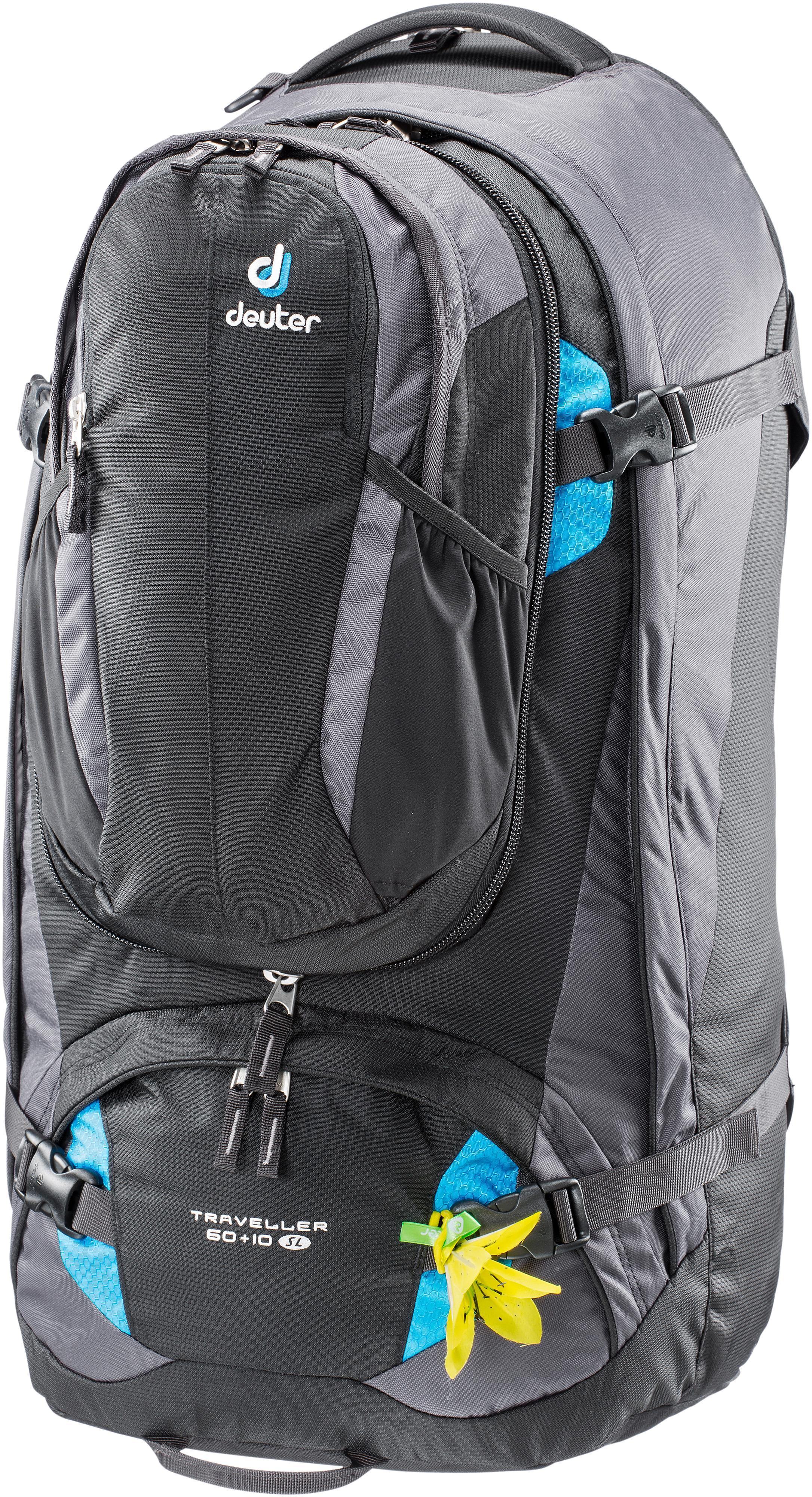 Deuter Damen Traveller 60 Plus 10 SL Rucksack Backpack Sportrucksack Mehrfarbig