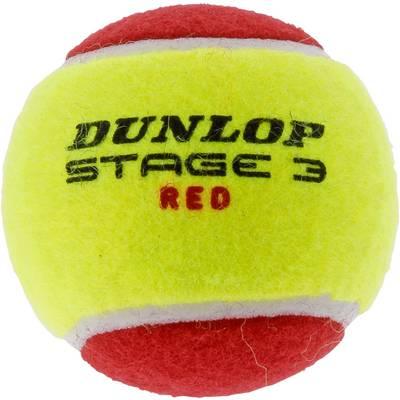 Dunlop Stage 3 Tennisball Kinder rot