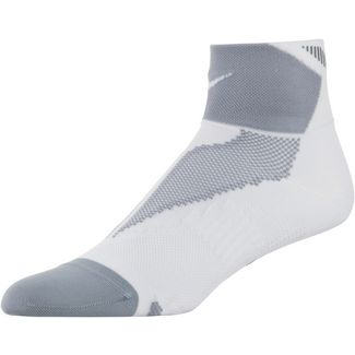 Nike Laufsocken weiß/grau