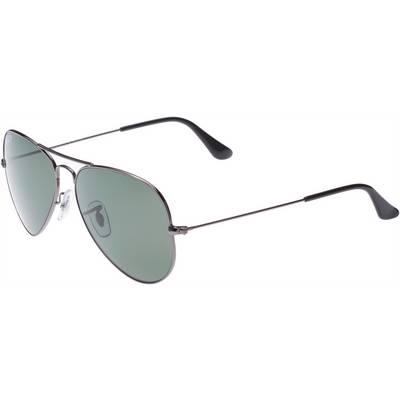 RAY-BAN Aviator Sonnenbrille silber/grau