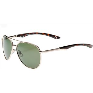 Maui Wowie Polarized Sonnenbrille sh gold w/sh tort tips