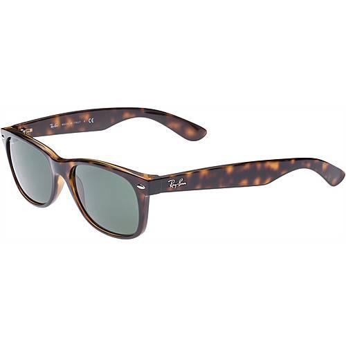 RAY-BAN New Wayfarer Sonnenbrille braun/schwarz
