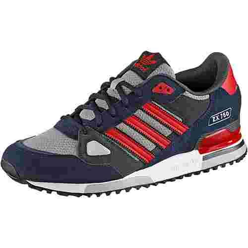 adidas ZX 750 Sneaker Herren navy/rot im Online Shop von SportScheck kaufen