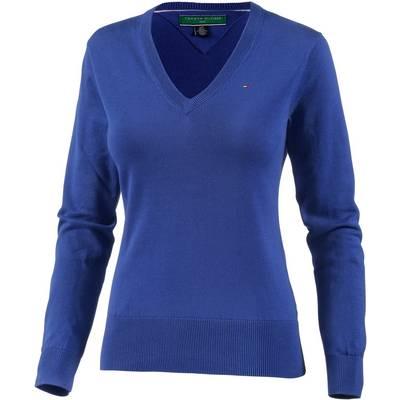 Tommy Hilfiger Ingid VNeck Sweater V-Pullover Damen blau