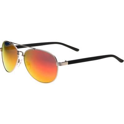 MasterDis Sunglasses Mumbo Mirror Sonnenbrille silberfarben/rot