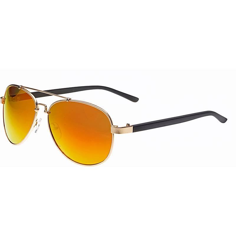 Masterdis Sunglasses / Sonnenbrille Mumbo Mirror gold-rot 487JIc6z